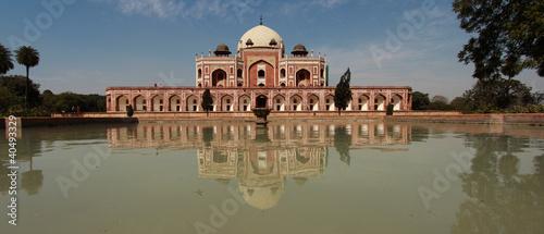 In de dag Delhi Humayuns Tomb