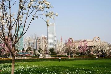 Place du peuple à Shanghai