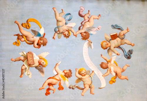Peinture d'anges - 40497337