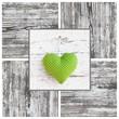 Grünes Herz - Hoffnung, Glück, Liebe