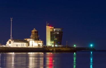 Aberdeen harbour Tower Lights
