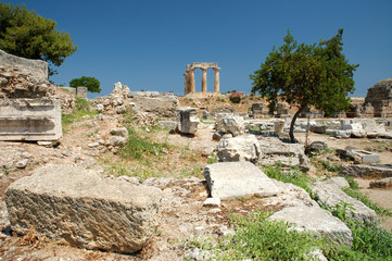 Ancient Corinth , Greece
