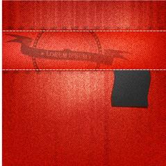 vector  rad jeans background. illustration folds background