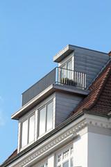 Dachgaube mit Terrasse