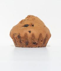 Muffin cake with raisins