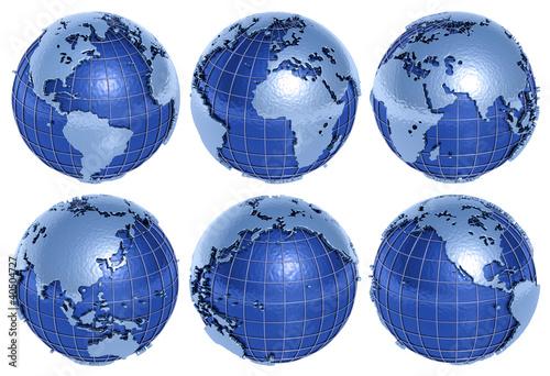 Globe Six Sides