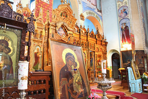 Saint Trinity Orthodox Convent interior