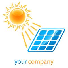 Solarenergie - Symbol