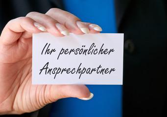 Ihr persönlicher Ansprechpartner