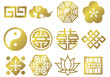 chinese mark icons