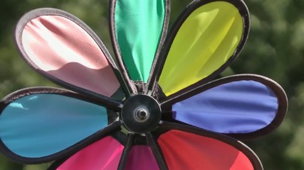 whirligig pinwheel with wind chimes