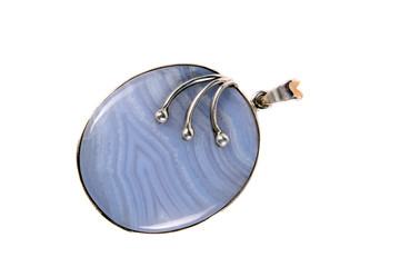 Blueless Gemstone Pendant