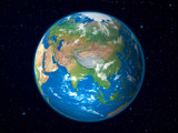 Earth Model from Space: Asia View