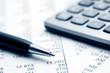 Leinwandbild Motiv Accounting