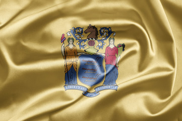 Flag of the state of New Jersey