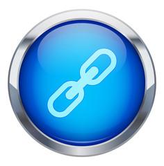 Metalik çerçeveli birleşme ikonu