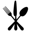 Vector illustration of cutlery