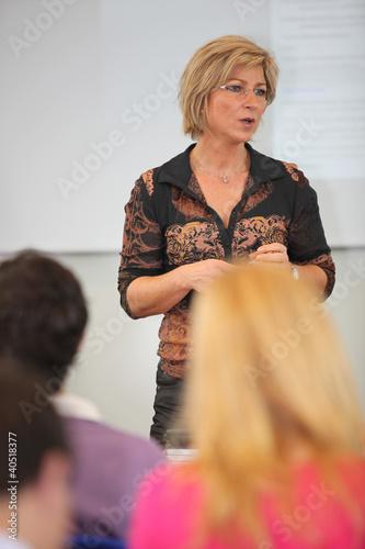 Female college teacher