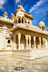 Jaswant Thada memorial, Jodhpur,India.
