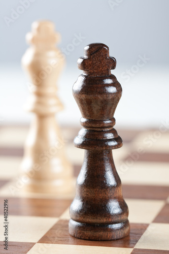 Two kings on chess board