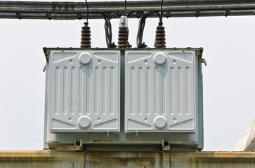 Electrical transformer station