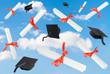 Graduation Caps & Scrolls