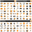 pack icons V orange