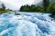 Leinwandbild Motiv Glacier river