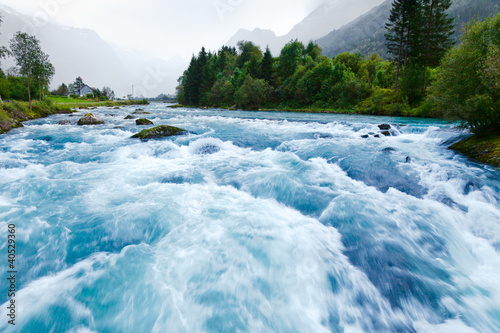 Fototapete Fluss - Wandtattoos - Fotoposter - Aufkleber