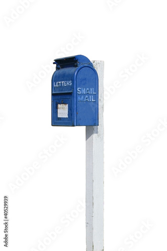 Official Labeled Snail Mail Box