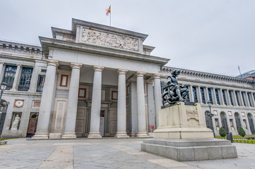 Prado Museum at Madrid, Spain