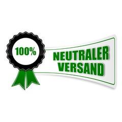 sticker siegel neutraler versand 100% 1