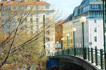 Un ponte a Vienna, Austria