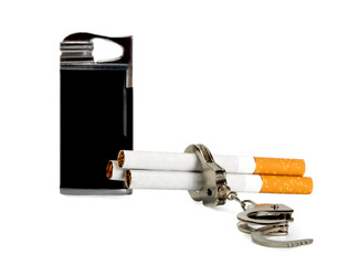 cigarette-lighter and Cigarette