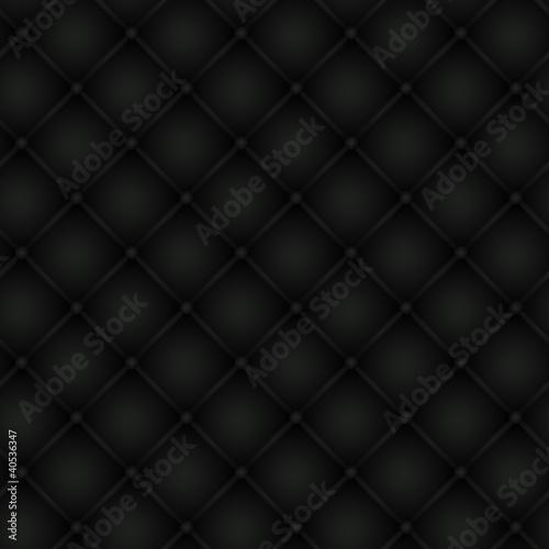 Aluminium Leder Polsterung schwarz, nahtlos kachelbar