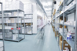 medical factory  supplies storage indoor - 40537749