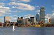 Boston Buildings in Back Bay