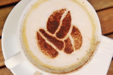Coffee capuchino drink
