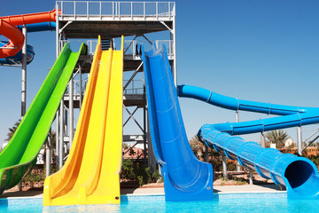 Aquapark. Egypt, Sharm al-Sheikh.