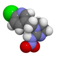 imidacloprid molecule