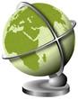 la terre en globe