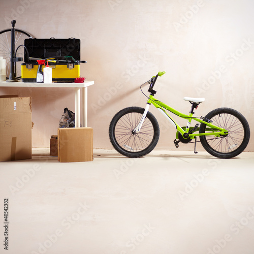 Mountain bike and equipment