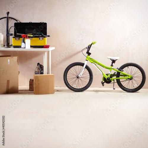 Mountain bike and equipment
