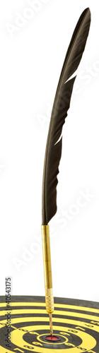 plume ciblée