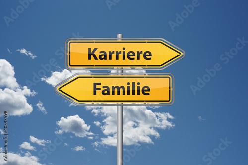 Karriere oder Familie
