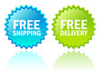 Vector free shipping icons