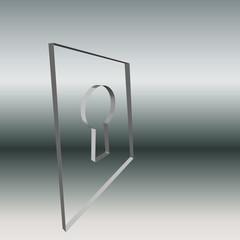 Logo Schluesselloch Glas