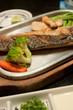 Saba fish grilled, Japanese food style