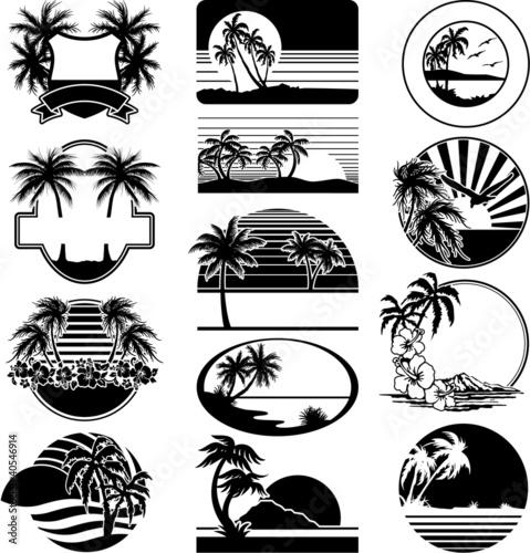 Black and white beaches - 40546914