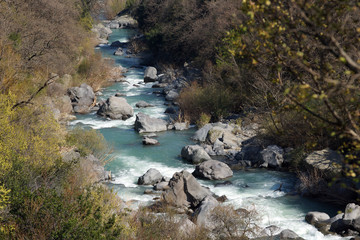 Alcantara: a foreshortening of the river